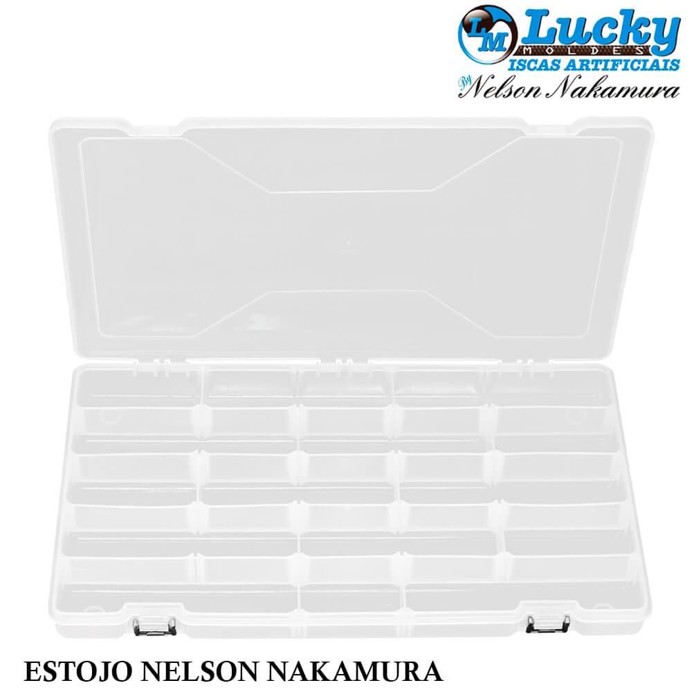 Estojo porta Iscas Nelson Nakamura - Lucky Box