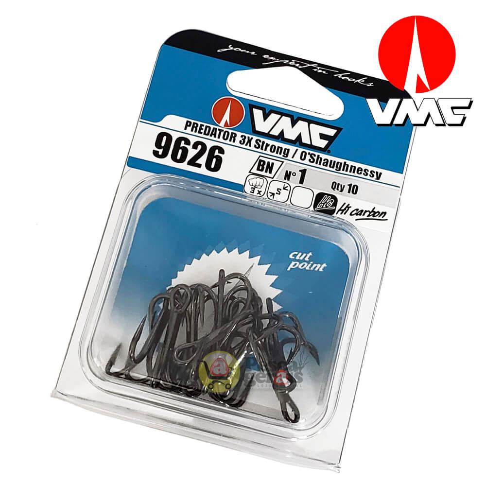 Garateia VMC 9626BN 3x Predator O'Shaughnessy Black Nickel Nº 1