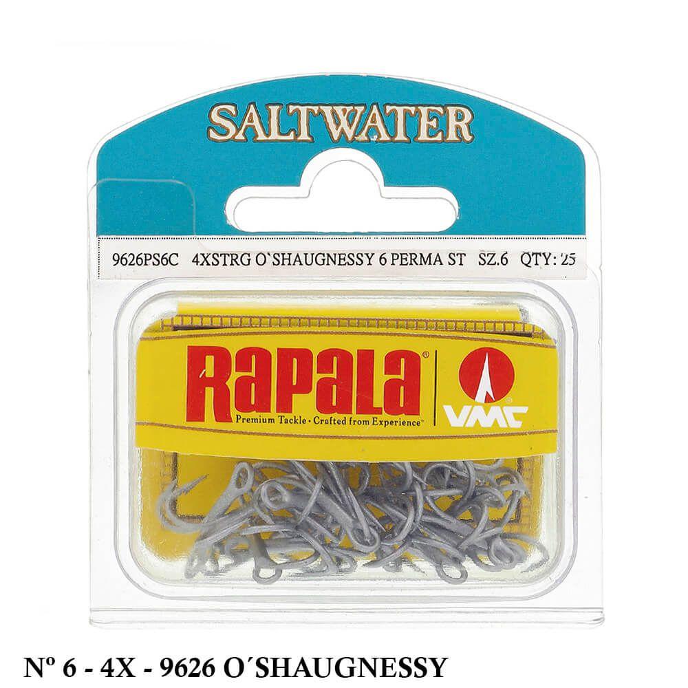 Garateia VMC 9626PS6C Saltwater 4x O'Shaugnessy Nº 6 - 25 unidades
