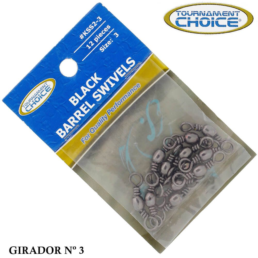 Girador Tournament Choice KSS2-3 Black - Nº 3