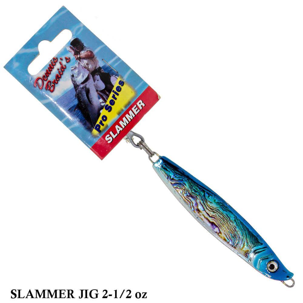 Isca Artificial Dennis Braid´s Slammer Jig 2-1/2oz   71,0 gr