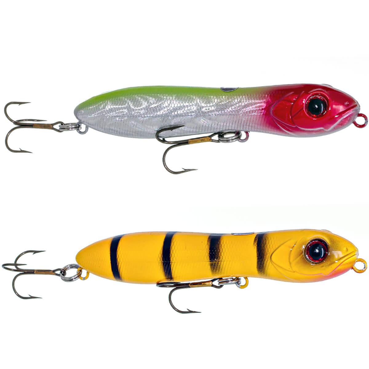 Isca Artificial Tropical Fishing Zig Tucuna   10cm - 16g