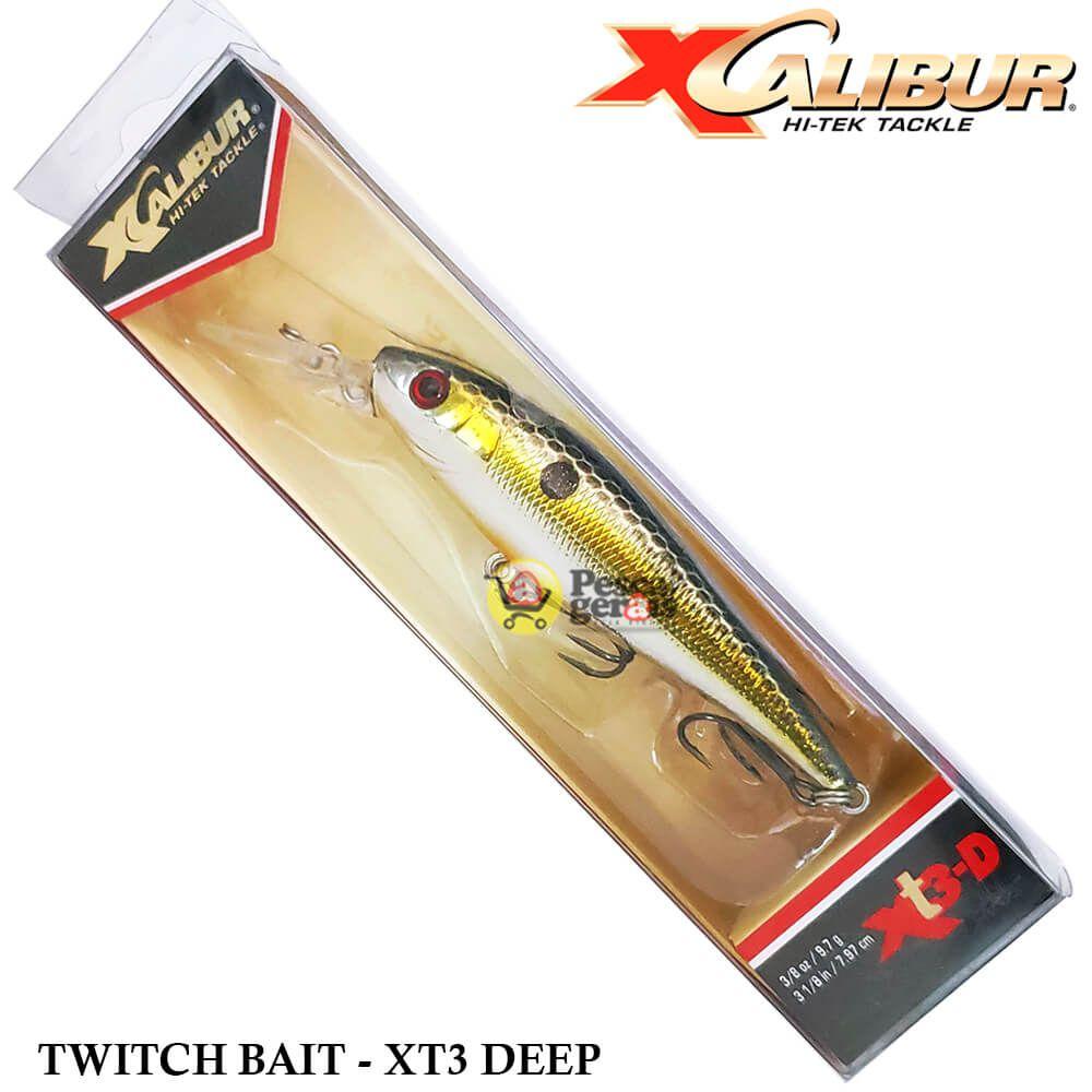 Isca Artificial Xcalibur XT3 Deep - Cor Foxy Mama