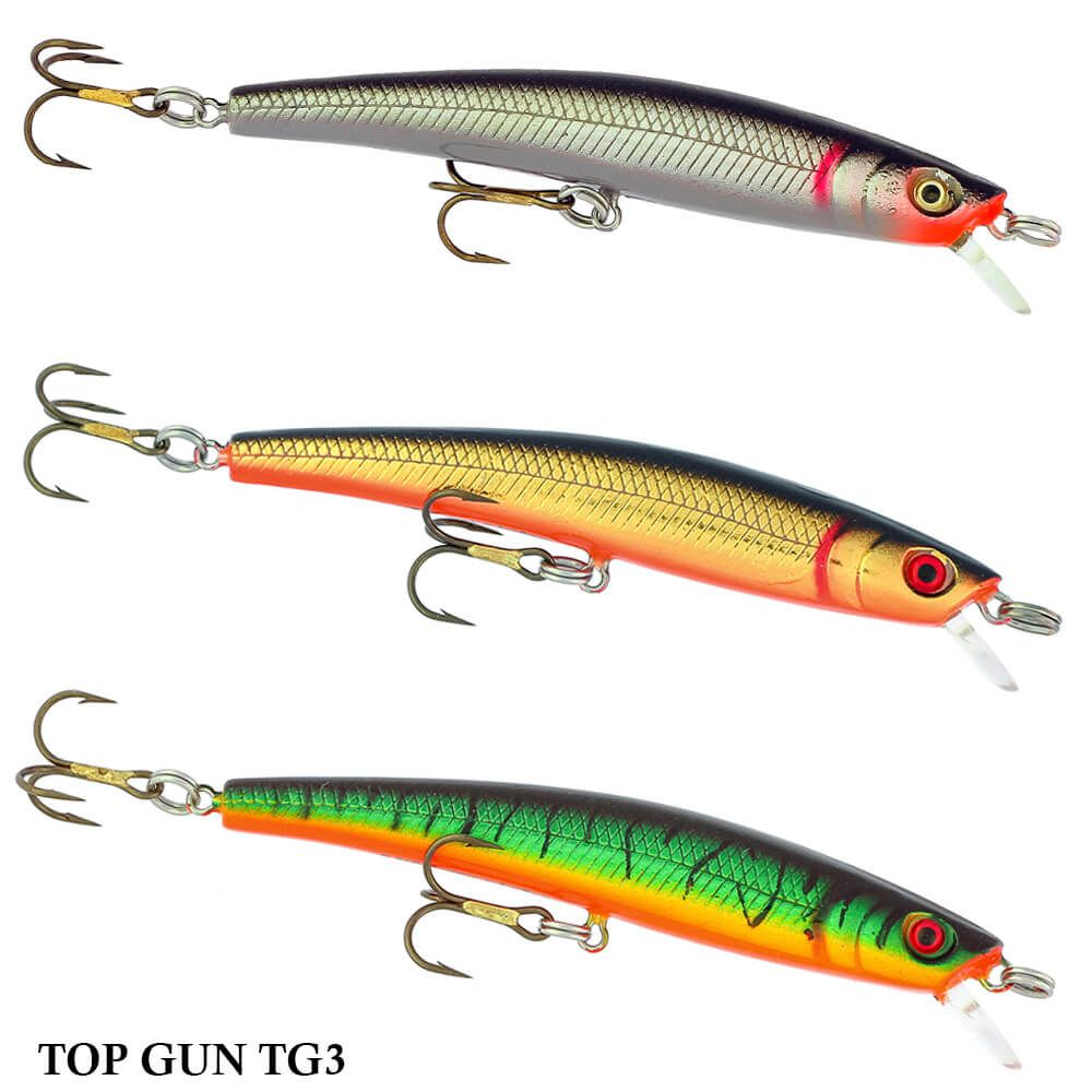 Isca Artificial Bagley Top Gun TG3 | 9,0cm - 8,0gr