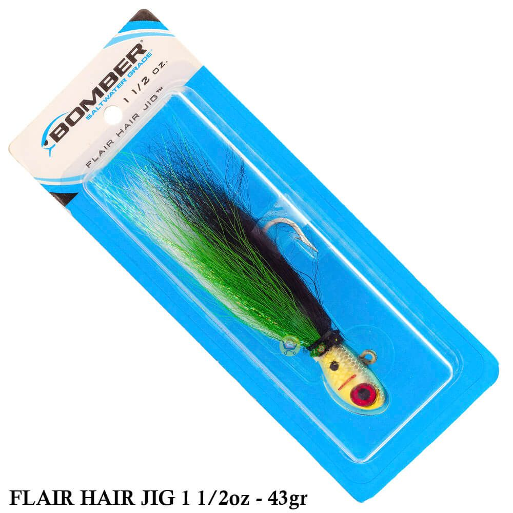 Isca Bomber Flair Hair Jig   1 1/2oz - 43,0gr