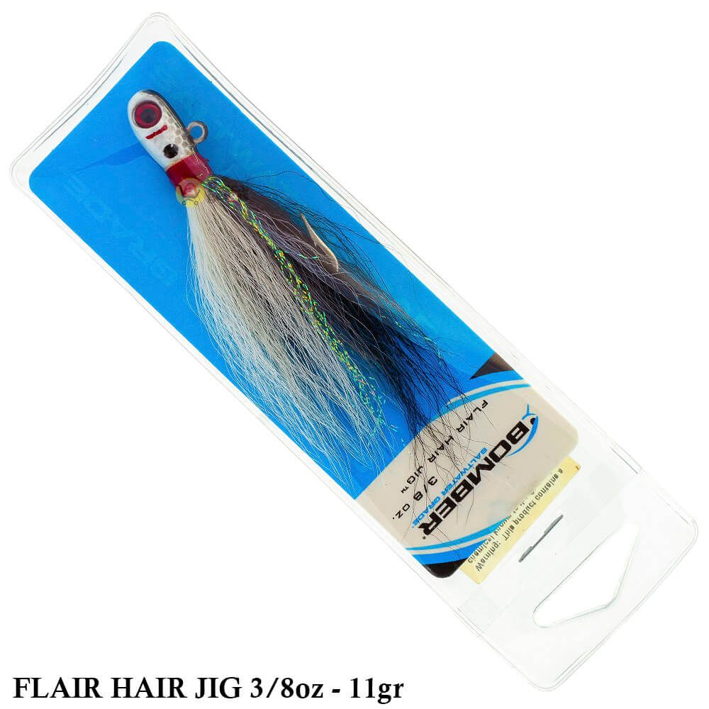 Isca Bomber Flair Hair Jig | 3/8oz - 11,0gr