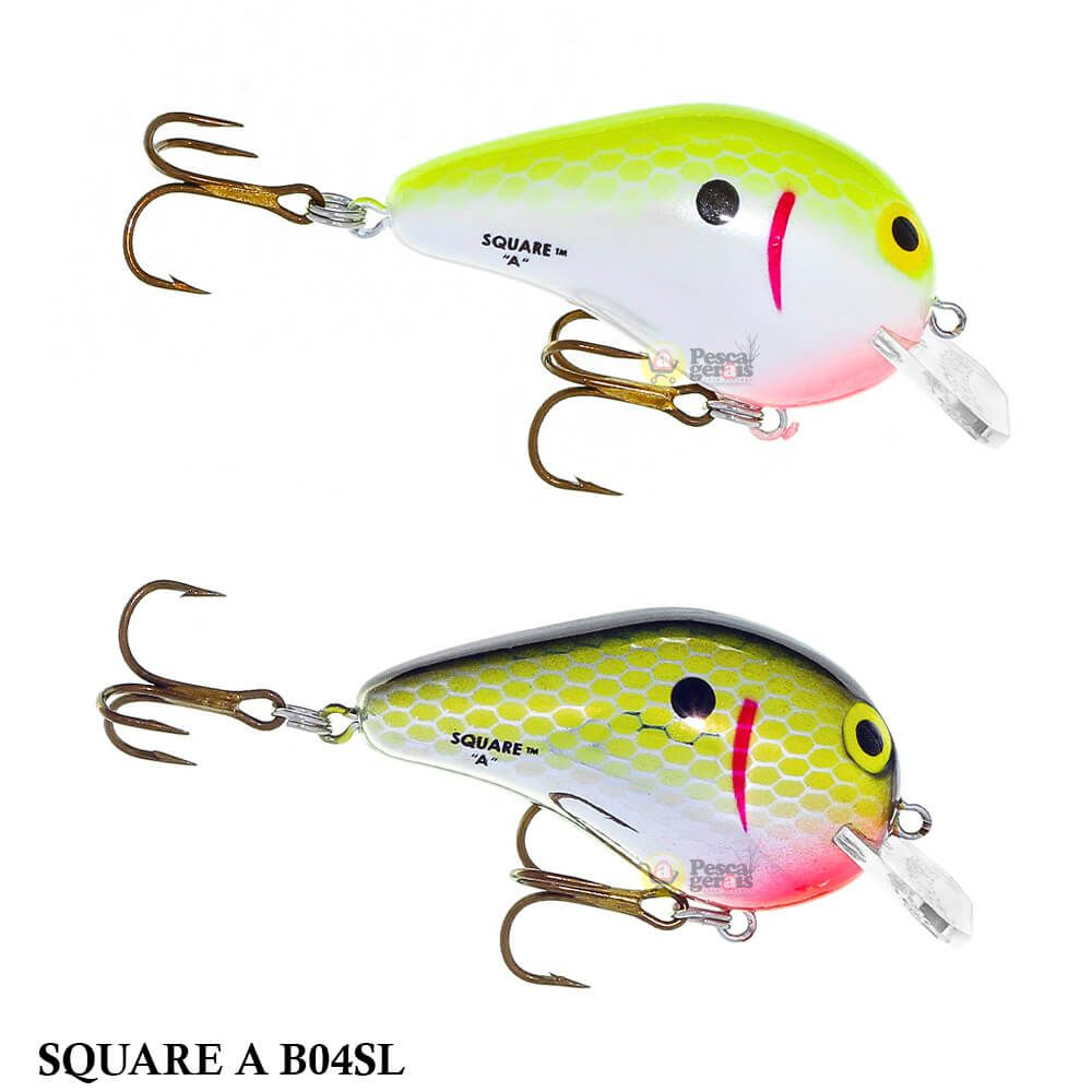 Isca Bomber Square A B04SL | 4,0cm - 7,0gr