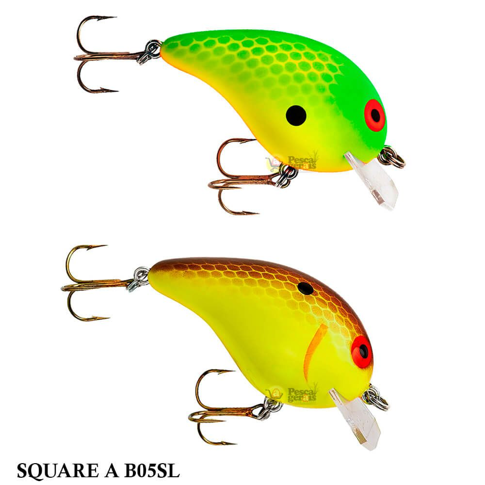 Isca Bomber Square A B05SL | 6,0cm - 10,0gr