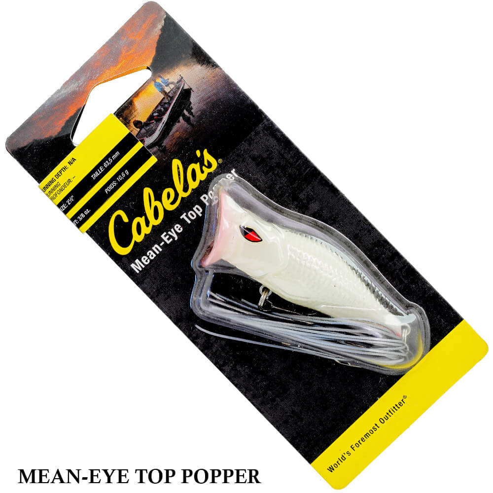 Isca Cabelas Mean-Eye Top Popper MEPOP | 6,5cm - 10,6gr