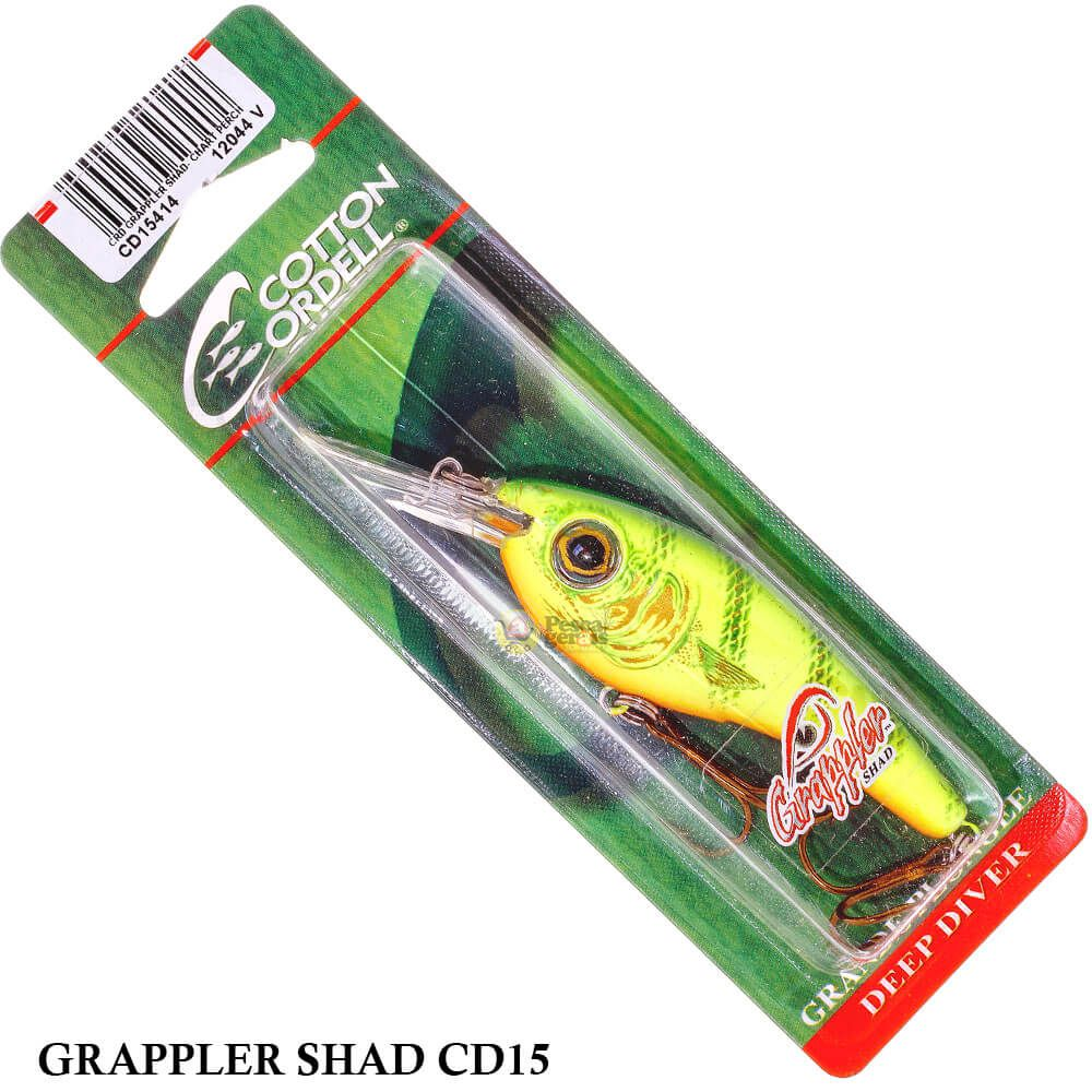 Isca Cotton Cordell Grappler Shad Cd15 | 7,22cm - 11,8gr