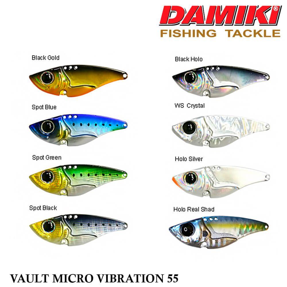 Isca Damiki Vault Micro Vibration 55 | 5,5cm - 14,0gr