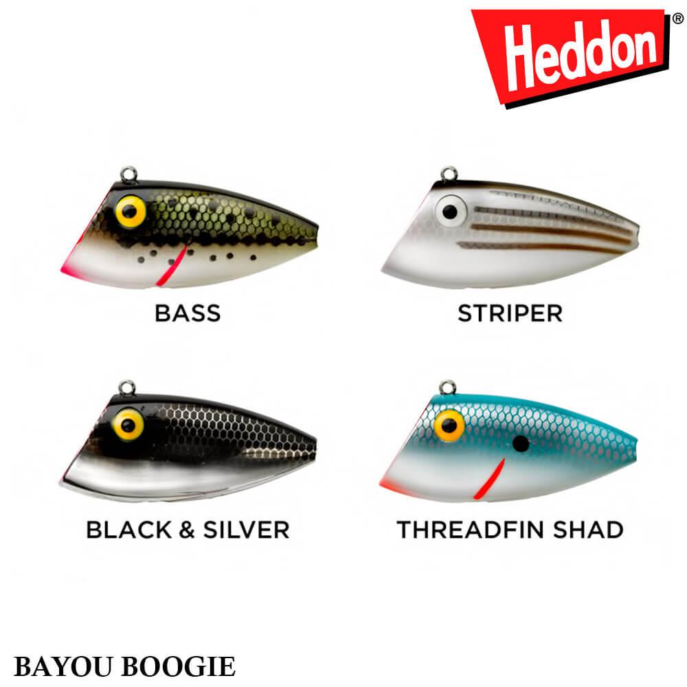 Isca Heddon Bayou Boogie W6542   5,0cm - 9,5gr