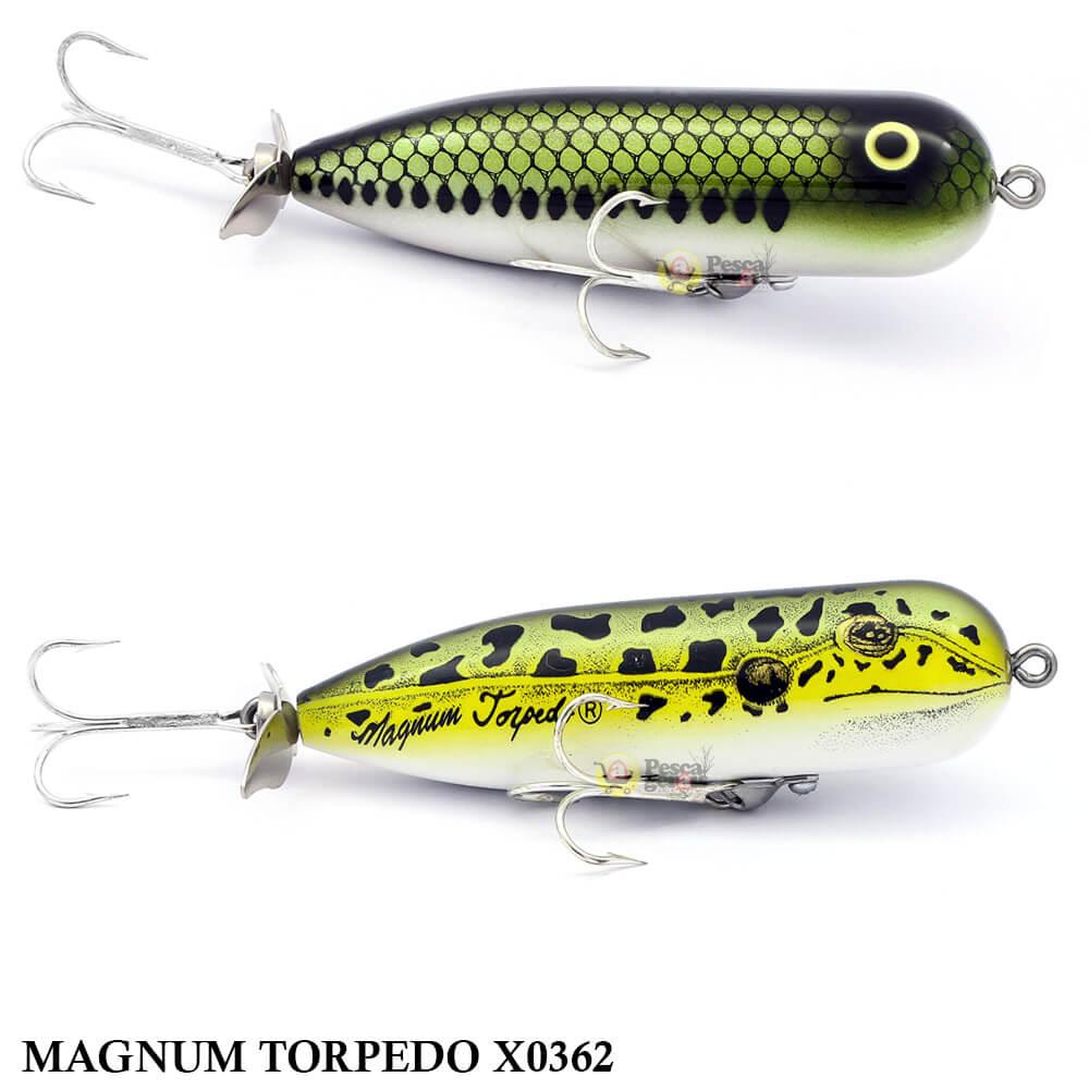 Isca Heddon Magnum Torpedo X0362 | 8,5cm - 16,4gr