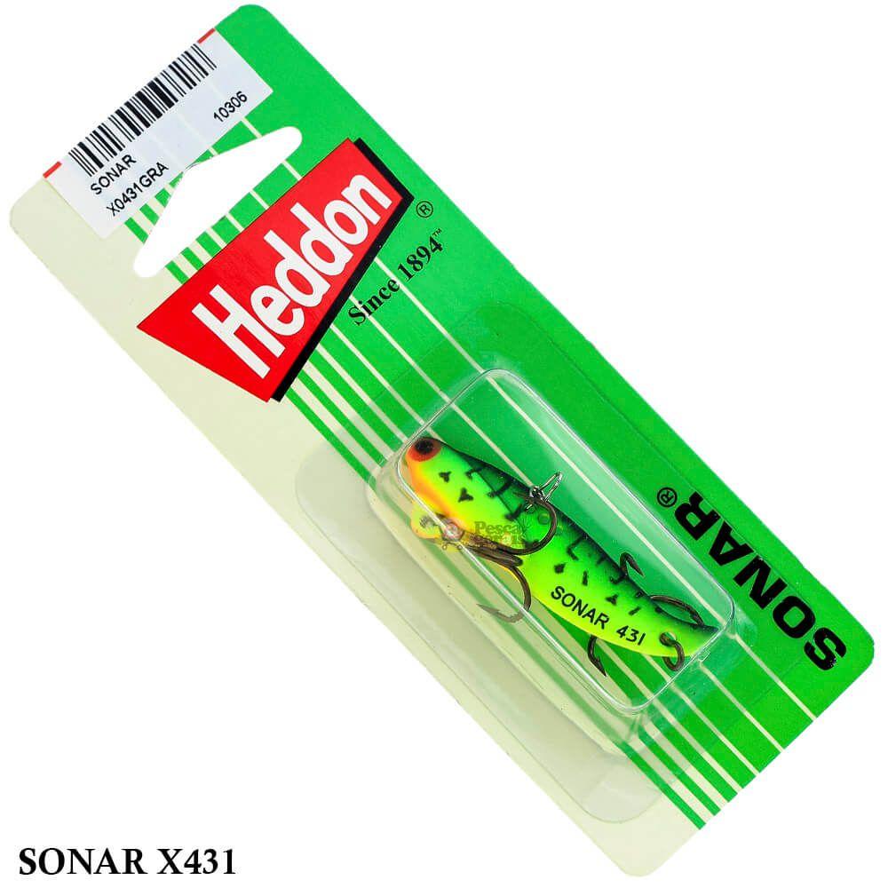 Isca Heddon Sonar X0431 | 4,9cm - 7,0gr