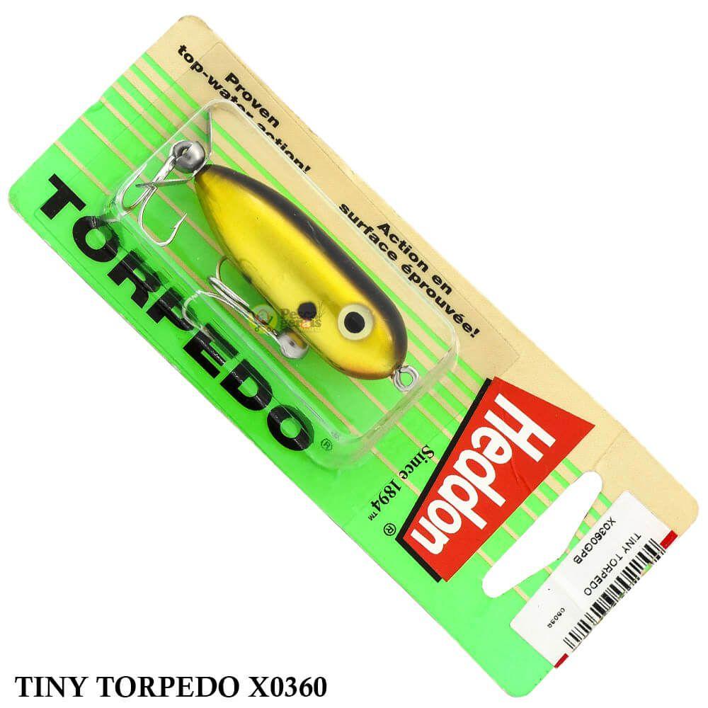 Isca Heddon Tiny Torpedo X0360 | 4,9cm - 7,0gr