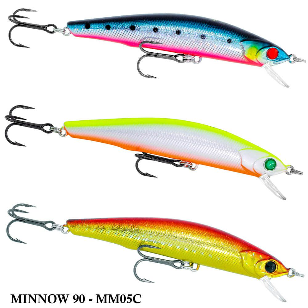 Isca Artificial Hurricane Minnow 90 MM05C | 9,0cm - 9,3gr