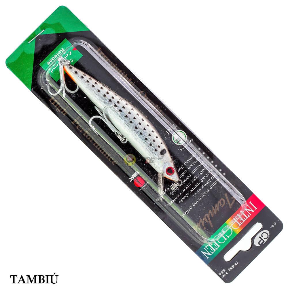Isca Intergreen Tambiú | 9,0cm - 8,8gr