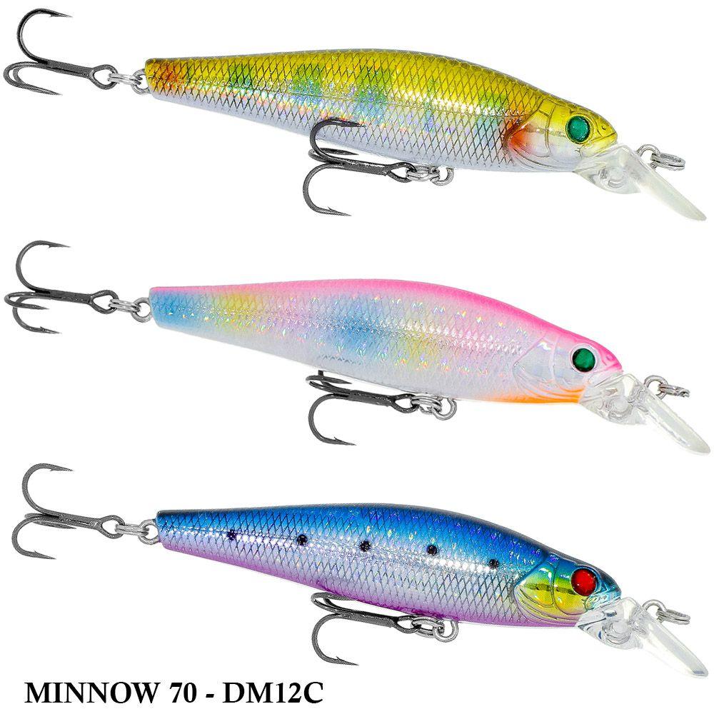 Isca King Hunter Minnow 70 - DM12C   7,0cm - 8,3gr
