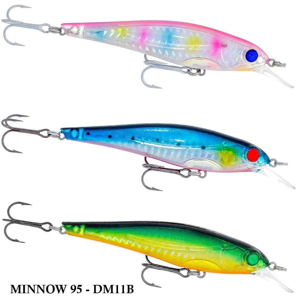 Isca King Hunter Minnow 95 - DM11B | 9,5cm - 14,0gr