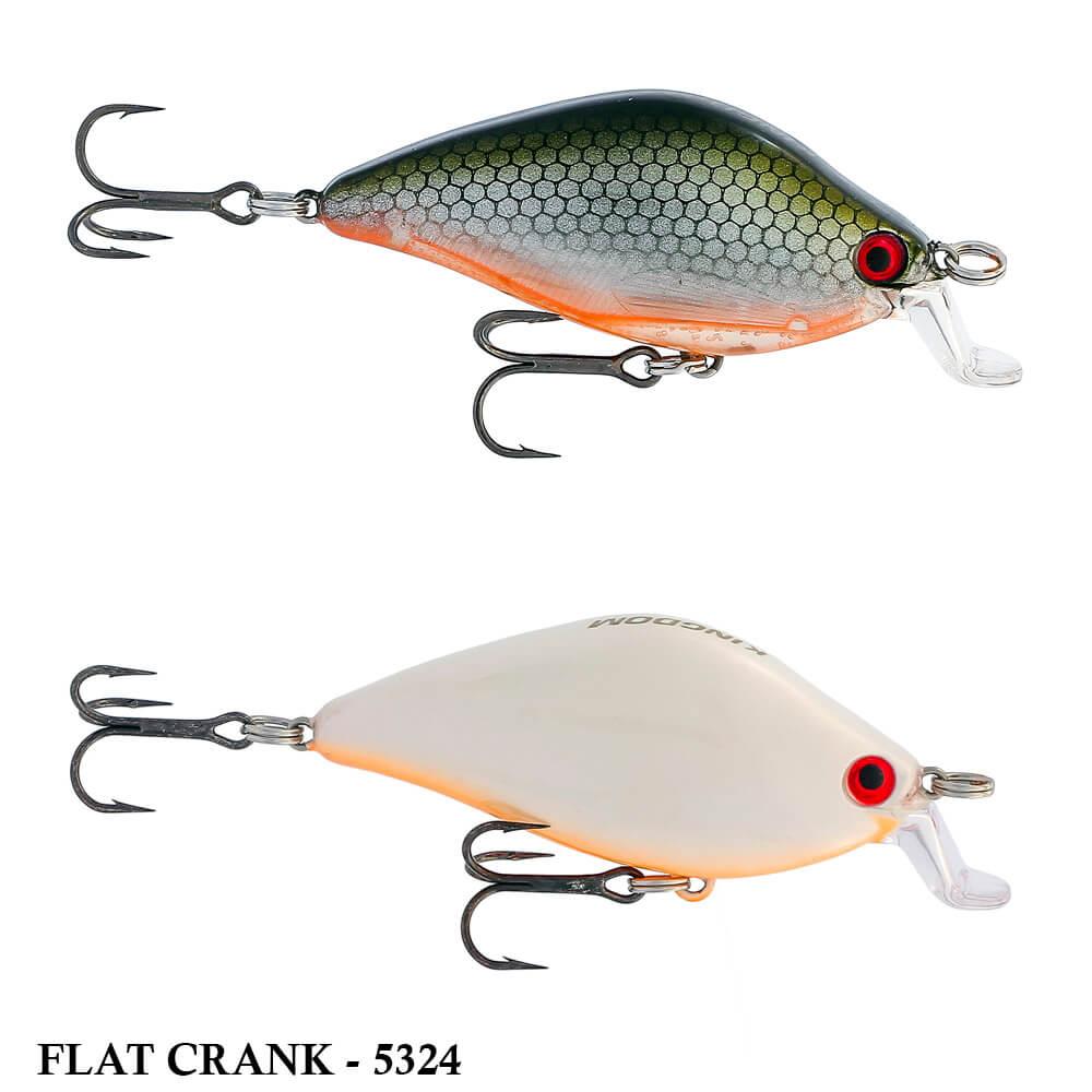 Isca Artificial Kingdom Flat Crank 5324 | 5,5cm - 8,6gr