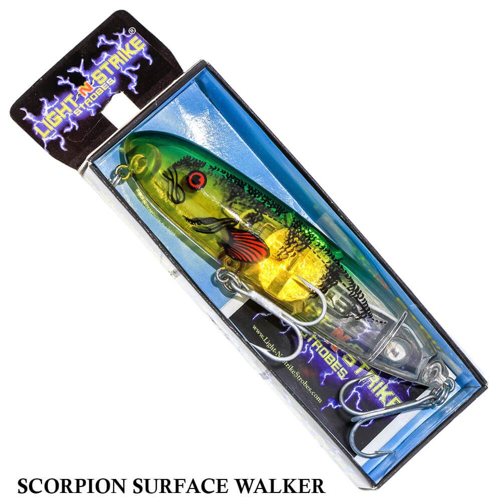 Isca Light N Strike Strobes Scorpion | 11,0cm - 24,0gr