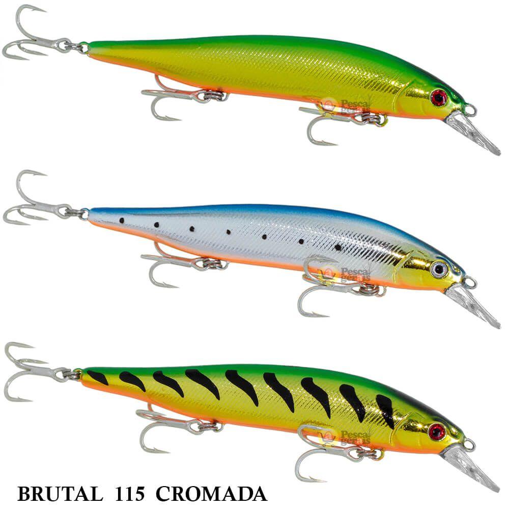 Isca Lori Brutal 115 - Série Cromada | 11,5cm - 19,0gr