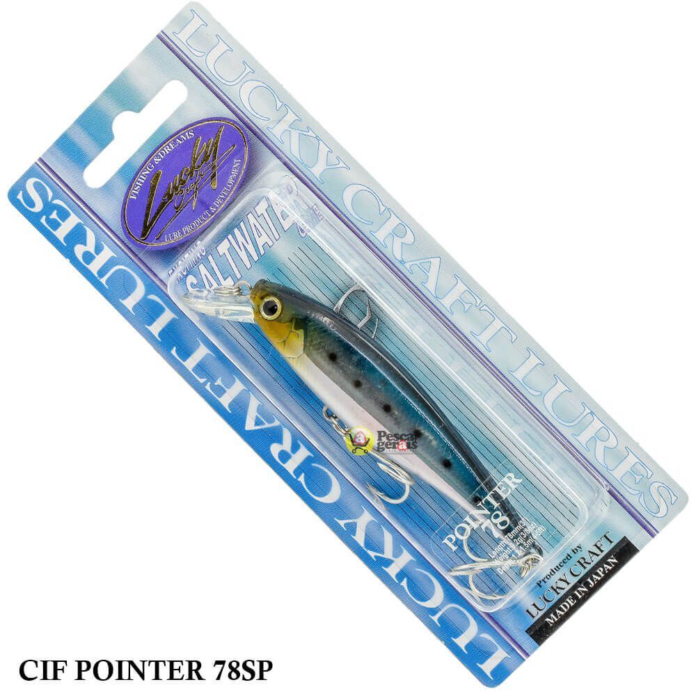 Isca Lucky Craft Cif Pointer 78SP | 7,8cm - 9,2gr