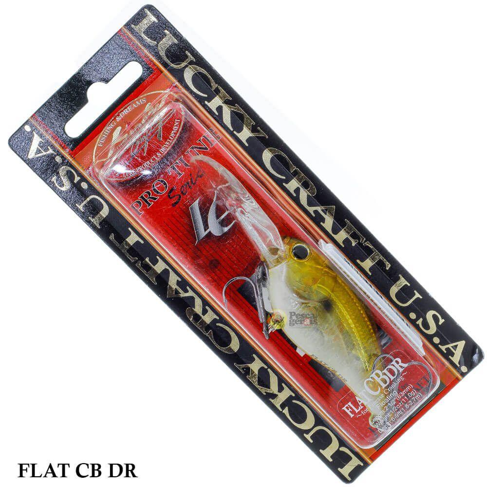 Isca Lucky Craft Flat CB DR | 6,3cm - 11,0gr
