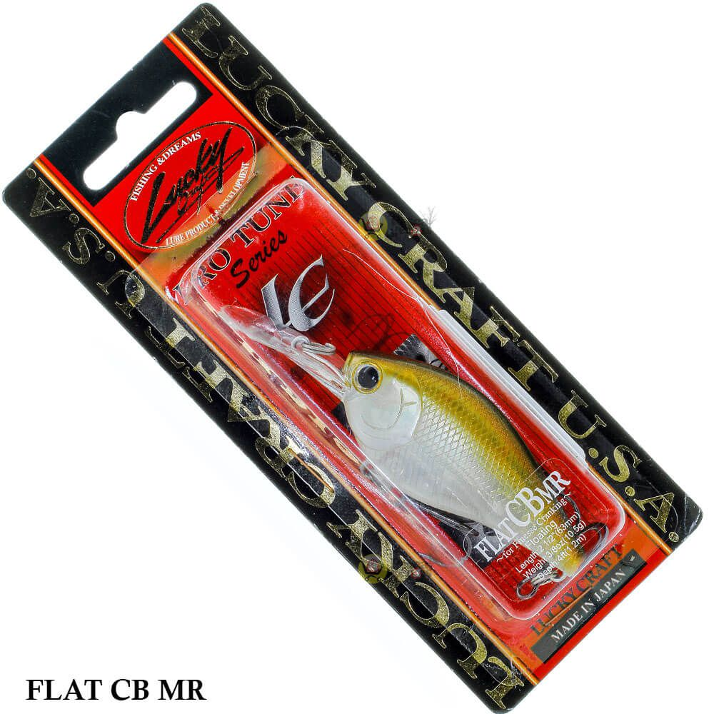 Isca Lucky Craft Flat CB MR | 6,3cm - 10,5gr