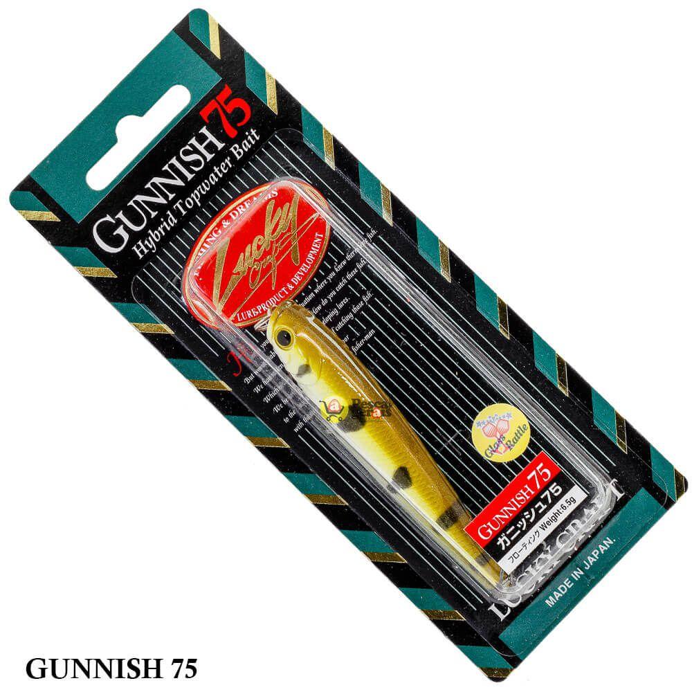 Isca Lucky Craft Gunnish 75 | 7,5cm - 6,5gr