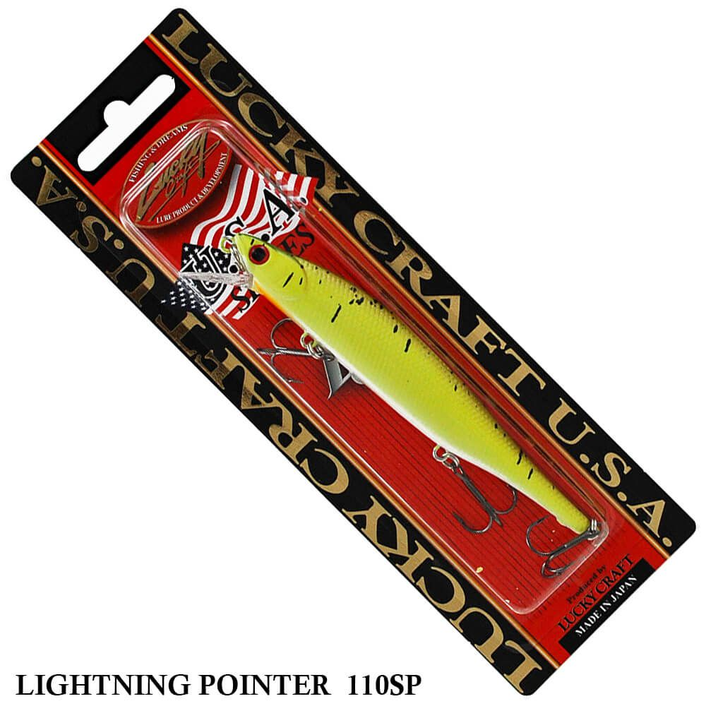Isca Lucky Craft Lightning Pointer 110SP | 11,0cm - 14,0gr