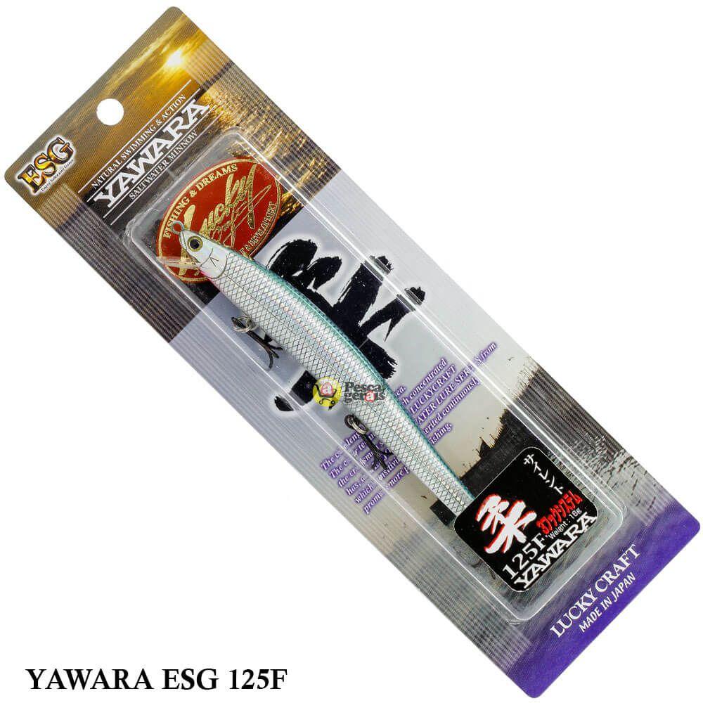 Isca Lucky Craft Saltwater Yawara ESG 125F | 12,5cm - 16,0gr