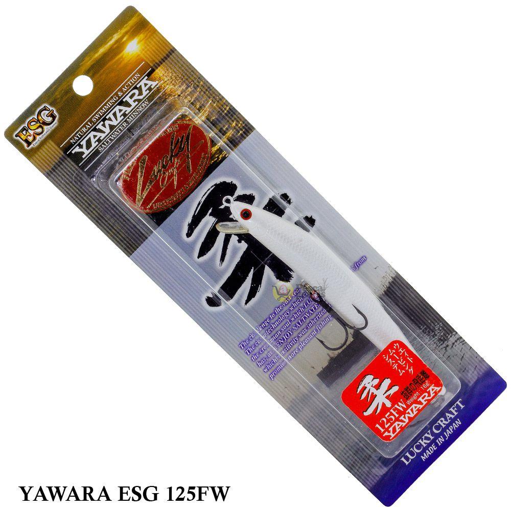 Isca Lucky Craft Saltwater Yawara ESG 125FW | 12,5cm - 16,0gr