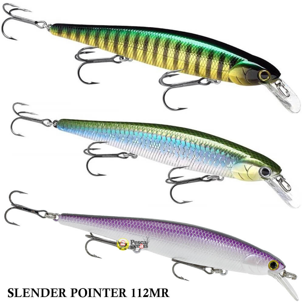 Isca Lucky Craft Slender Pointer 112MR | 11,2cm - 15,0gr