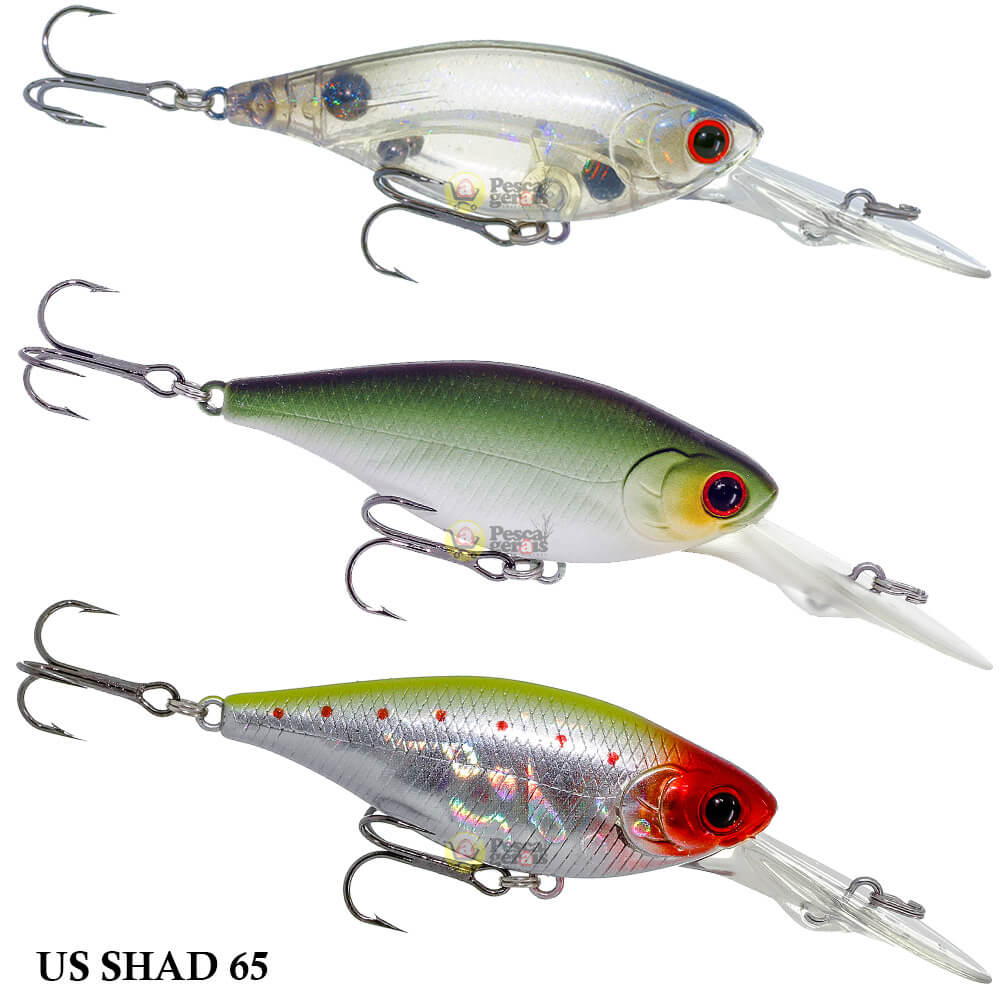 Isca Lucky Craft US Shad 65 | 6,5cm - 9,8gr