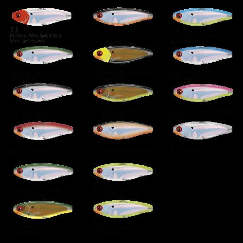 Isca Mirrolure 27MR   8,5cm - 10,5gr