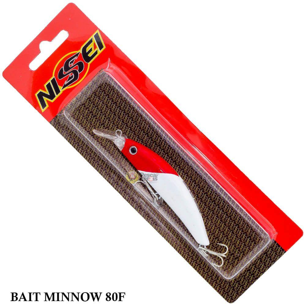 Isca Nissei Bait Minnow 80F| 8,0cm - 9,0gr