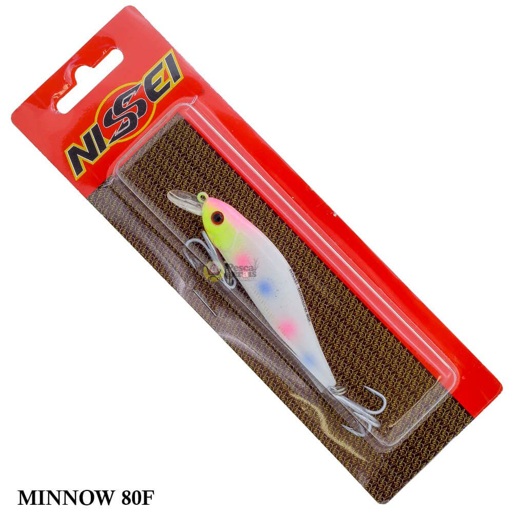 Isca Nissei Minnow 80F | 8,0cm - 10,0gr