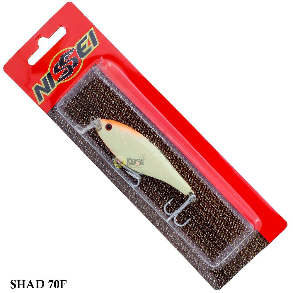 Isca Nissei Shad 70F   7,0cm - 10,0gr