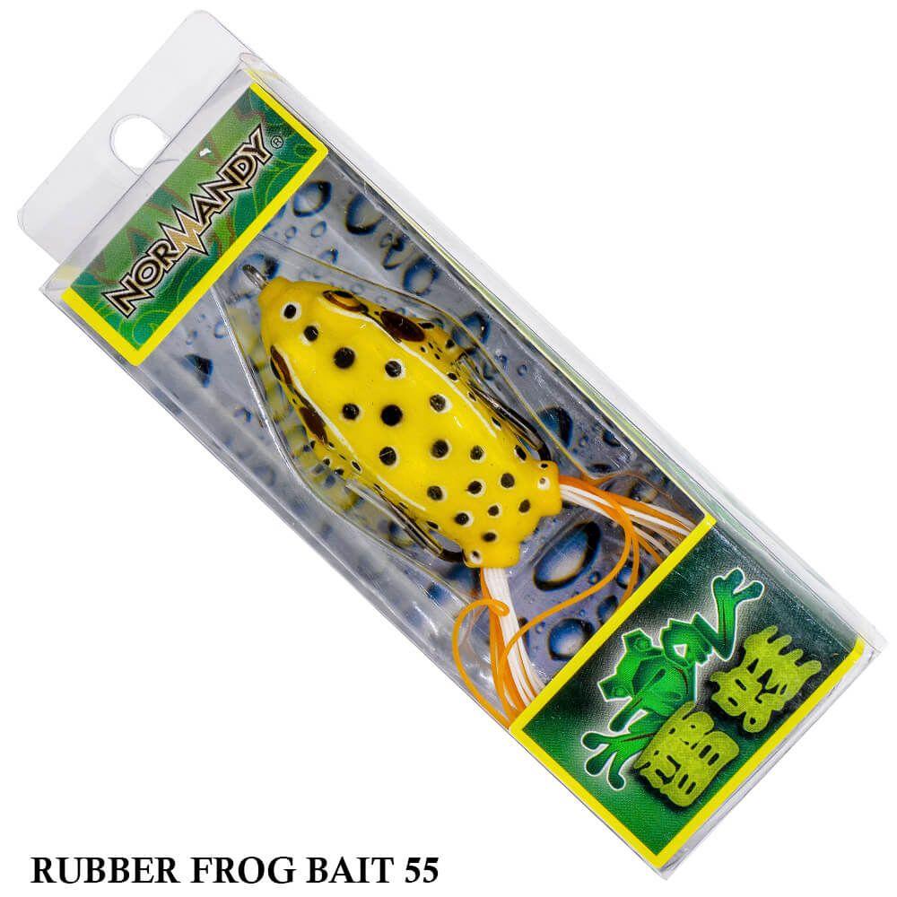 Isca Normandy Rubber Frog Bait 55 | 5,5cm - 12,0gr