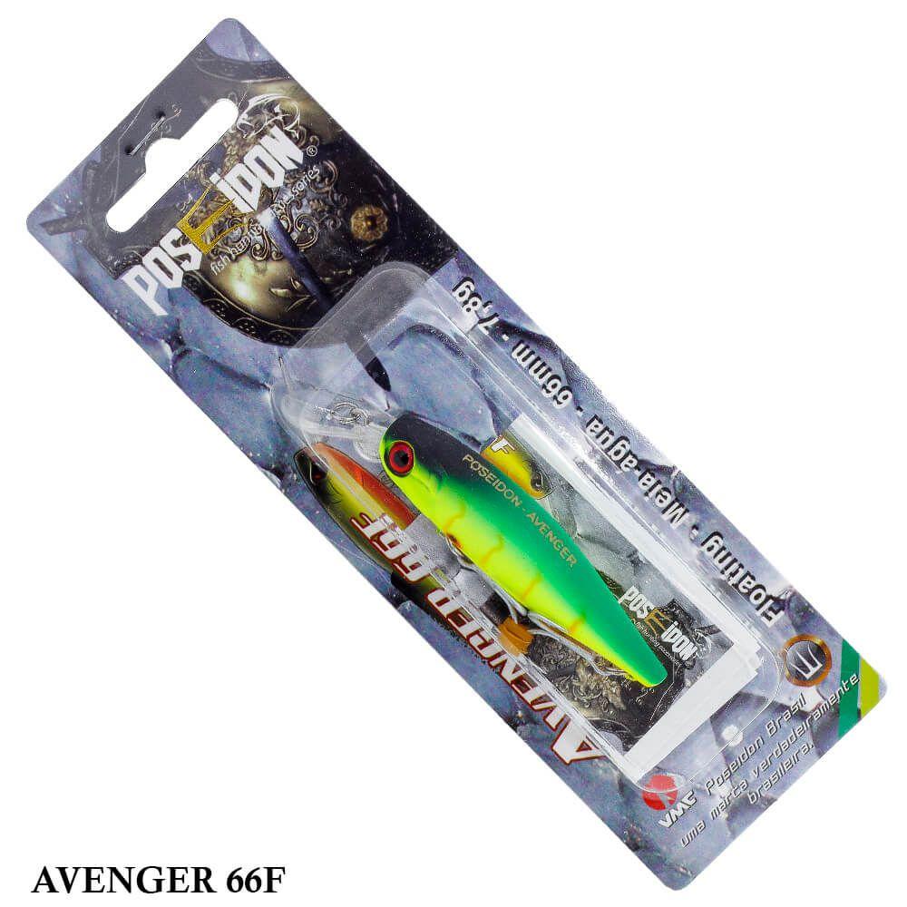 Isca Poseidon Avenger 66F | 6,6cm - 7,8gr