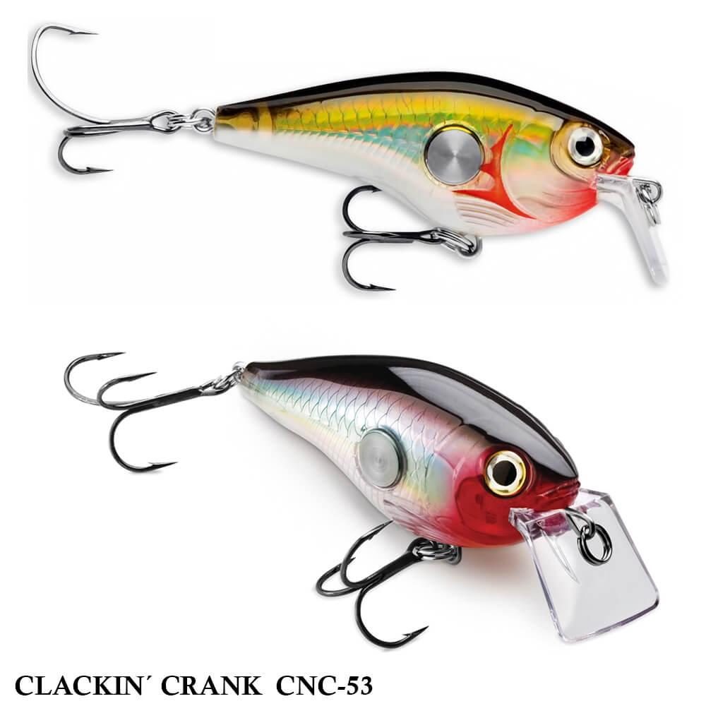 Isca Rapala Clackin Crank CNC-53 | 5,0 cm - 9,0 gr