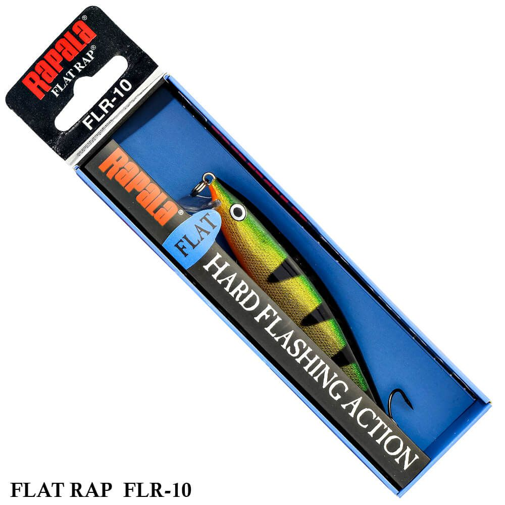 Isca Rapala Flat Rap FLR-10 | 10,0 cm - 12,0 gr
