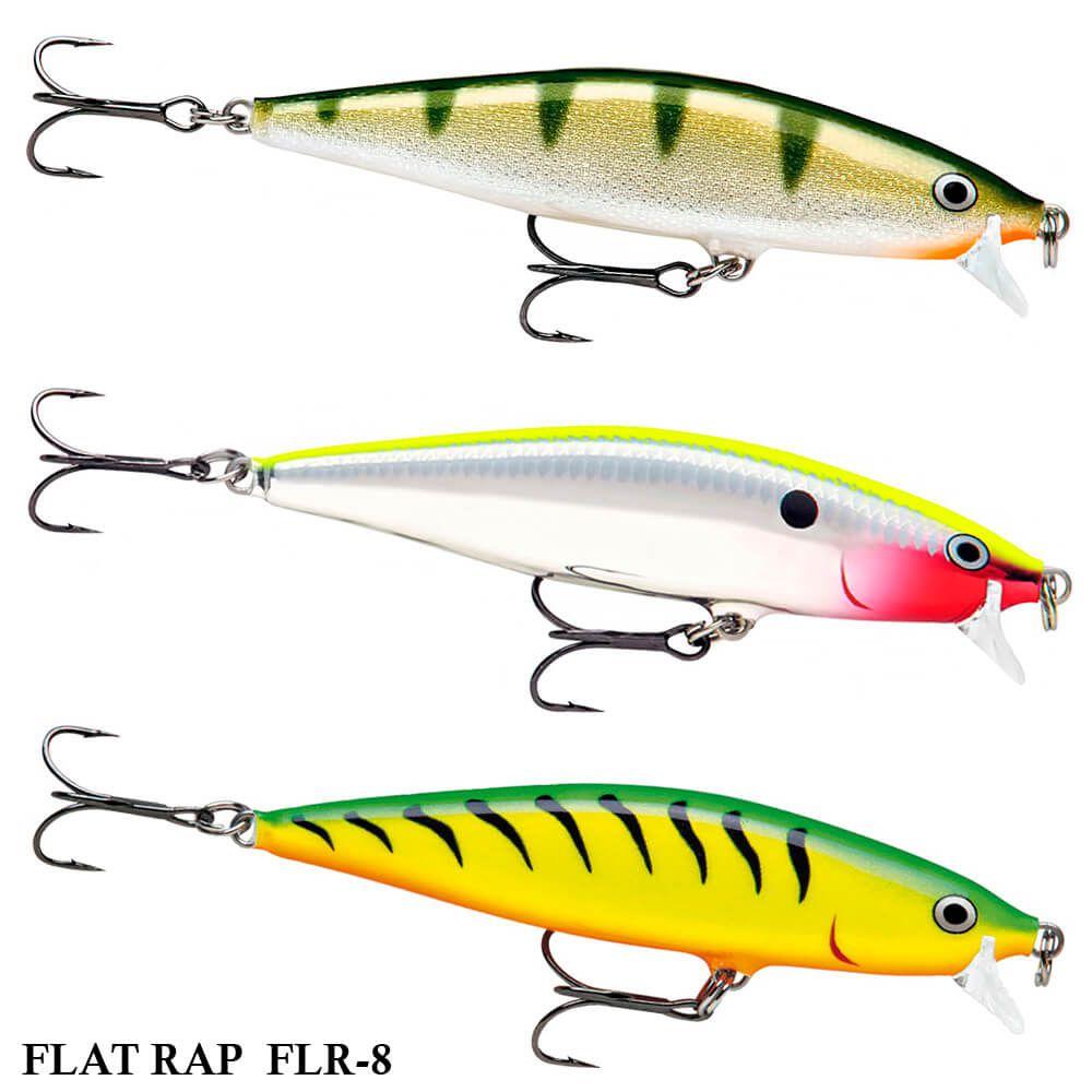Isca Rapala Flat Rap FLR-8 | 8,0 cm - 7,0 gr