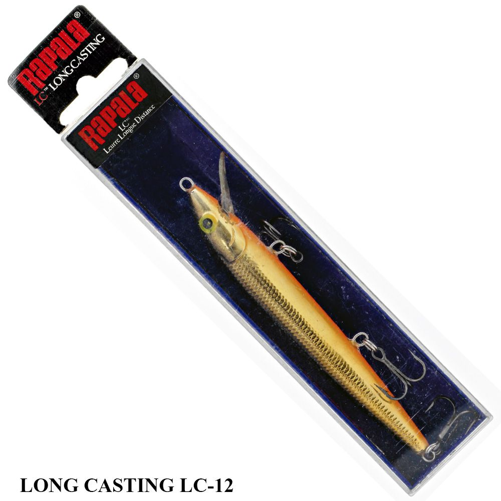 Isca Rapala Long Casting LC-12 | 12,0 cm - 19,0 gr