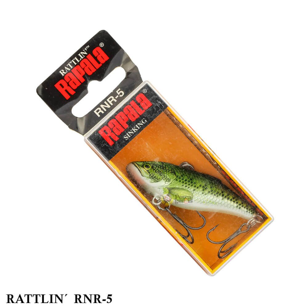 Isca Rapala Rattlin RNR-5   5,0 cm - 11,0 gr