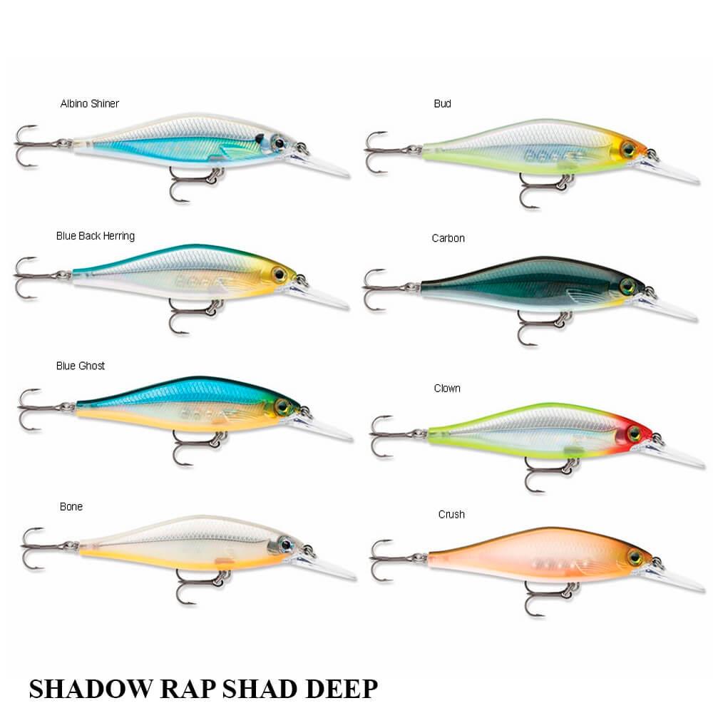 Isca Rapala Shadow Rap Shad Deep SDRSD-09 | 9,0 cm - 12,0 gr