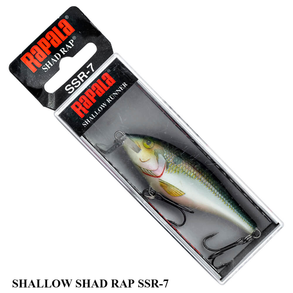 Isca Rapala Shallow Shad Rap - SSR-7 | 7,0 cm - 7,0 gr