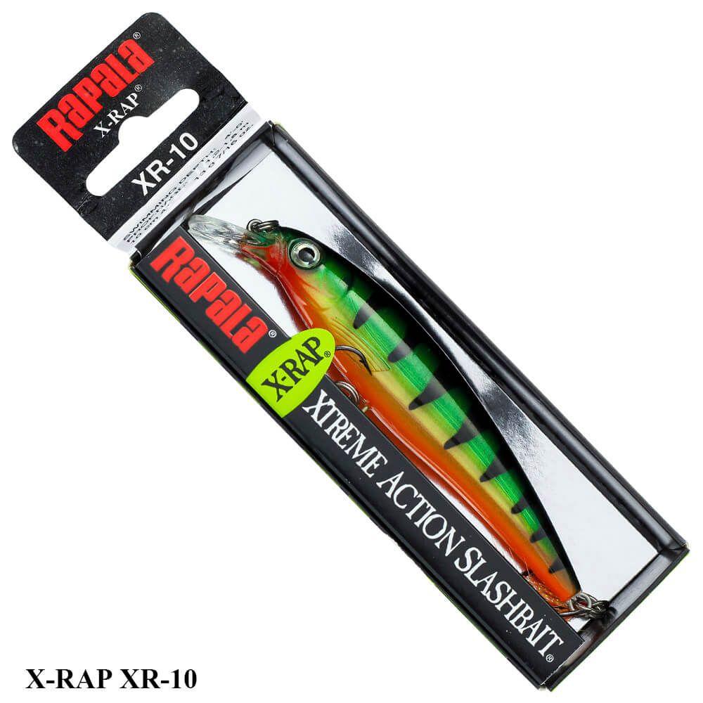 Isca Rapala X-Rap XR-10  | 10,0 cm - 13,0 gr