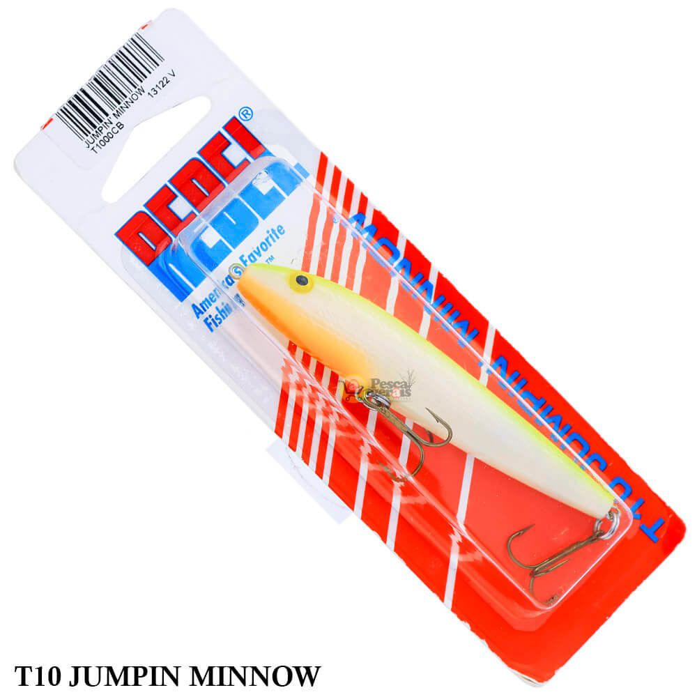 Isca Rebel Jumpin Minnow T10 | 8,9 cm - 9,0 gr